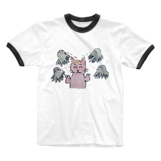 銀だこ Ringer T-shirts