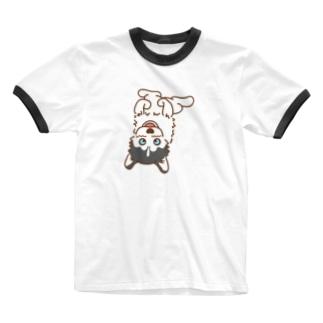 ヘソウー Ringer T-shirts