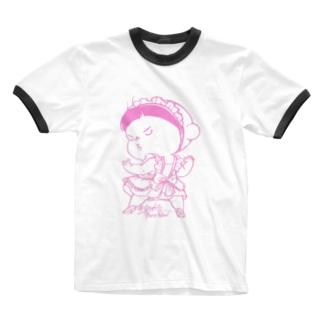 めいどあー Ringer T-shirts