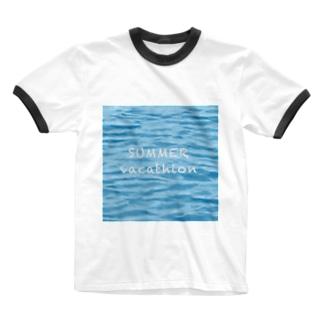 SUMMER vacathion Ringer T-shirts