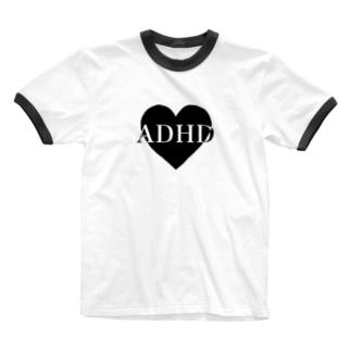 ADHD Ringer T-shirts