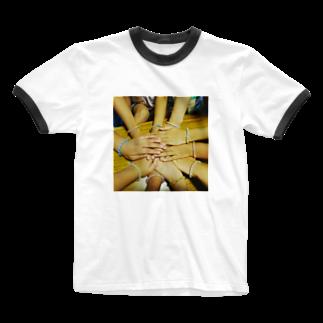 トントンの3班集合! Ringer T-shirts