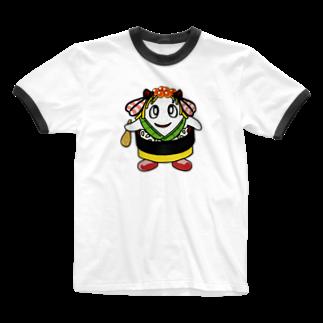 マニュアル車のちらっしー Ringer T-shirts