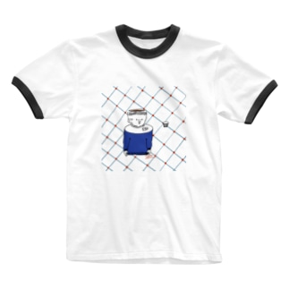 深煎りな男 Ringer T-shirts