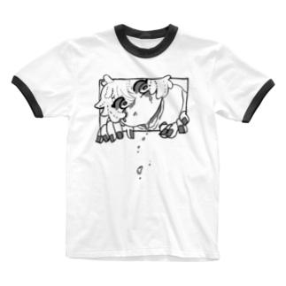 わーい Ringer T-shirts
