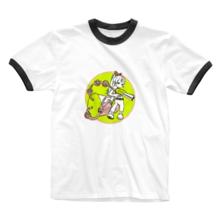 タピオカバスターズ長女 Ringer T-shirts