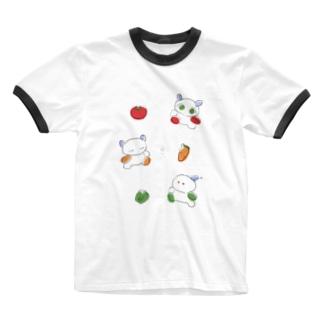 へるしい Ringer T-shirts