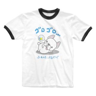 フレブルの休日 日本語バージョン Ringer T-shirts