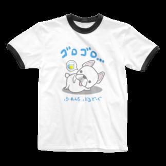 ラクガキメイトのフレブルの休日 日本語バージョン Ringer T-shirts