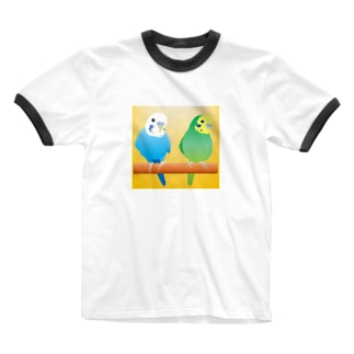 仲良しコンビ Ringer T-shirts