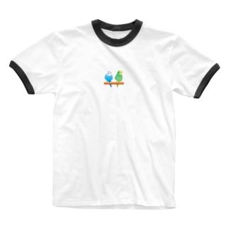 あおい&キラリ エクセルコンビ Ringer T-shirts