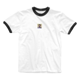 (フリー素材)ロングスリーブインド人 Ringer T-shirts
