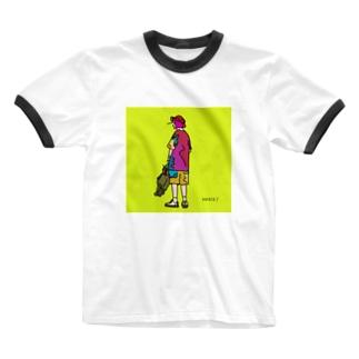 artwork_190531 Ringer T-shirts