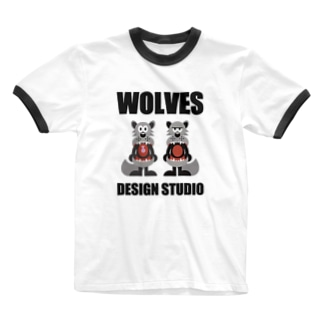 WOLVES Ringer T-shirts