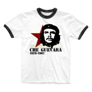 GUEVARA ゲバラ Ringer T-shirts