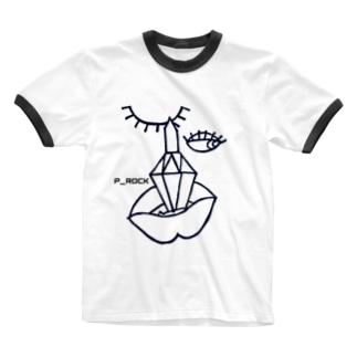 リップシャドー Ringer T-shirts