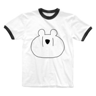めりっくま Ringer T-shirts
