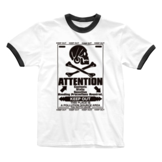 ATTENTION Ringer T-shirts