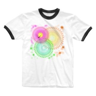 HANABI Ringer T-shirts