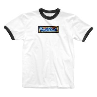 ネオン管プレイボーイ Ringer T-shirts