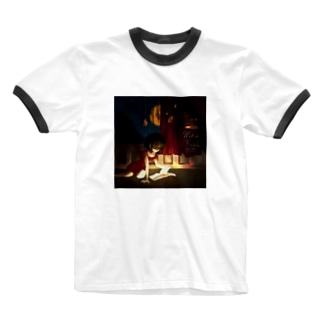 魔女寓話グッズ Ringer T-shirts