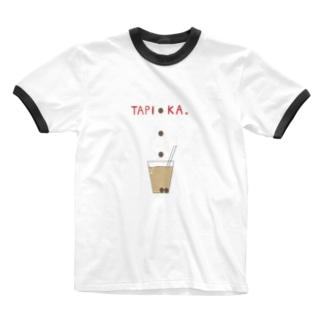 TAPI●KA Ringer T-shirts