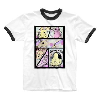コミックげっしーず Ringer T-Shirt