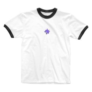 プテラプテラ Ringer T-shirts