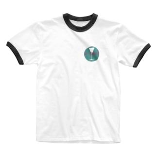 バーオカマザオフィシャルアイテム Ringer T-shirts