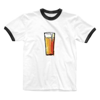 BEER Ringer T-shirts
