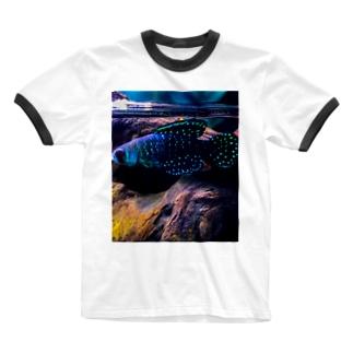 アルゼンチンパール Ringer T-shirts