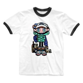 アル中 Ringer T-shirts