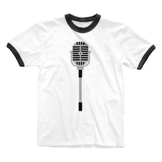 スタンドマイク Ringer T-shirts