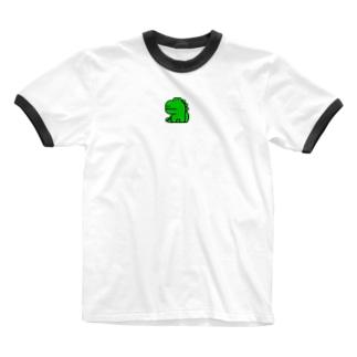 わに Ringer T-shirts