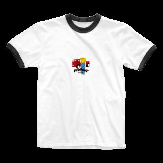 FreiheiT2019のFreiheiT2019 Ringer T-shirts