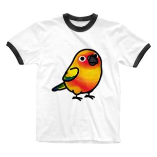 Chubby Bird コガネメキシコインコ Ringer T-shirts