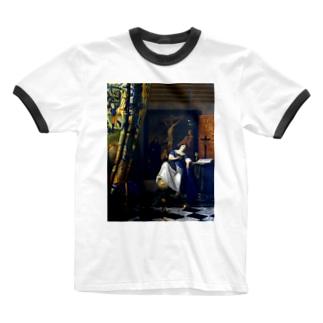 信仰の寓意 / フェルメール (The Allegory of the Faith 1670) Ringer T-shirts
