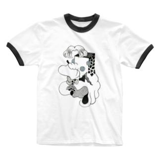 !楽しい死後!ファンキー Ringer T-shirts