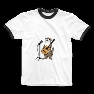 ミサキのうちょGtVo Ringer T-shirts