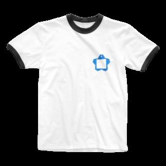 もへじくんグッズのお店。の名札 Ringer T-shirts