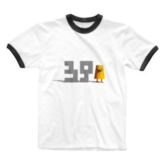 ミスター3939その1「39」 Ringer T-shirts