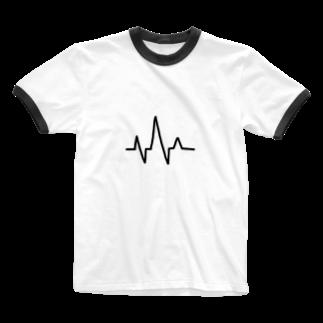 meloaの心電図 Ringer T-shirts