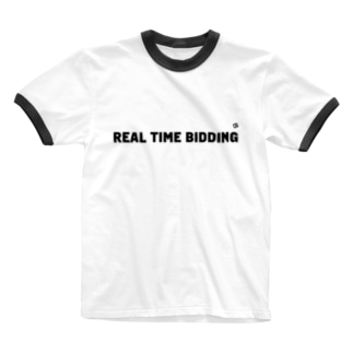 REAL TIME BIDDING Ringer T-shirts