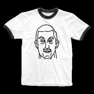 Aliviostaのプロレス 神様 2 イラスト 偉人アート Ringer T-shirts