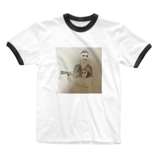 マチルダさん Ringer T-shirts