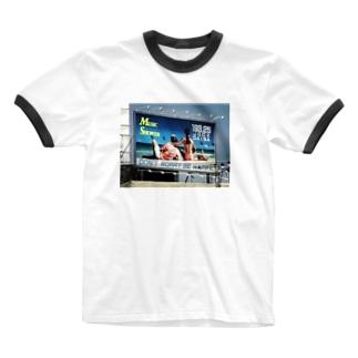ロンバケ Ringer T-shirts