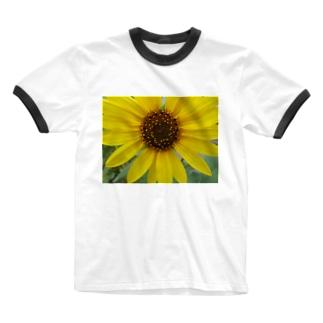 太陽とお友達!! Ringer T-shirts