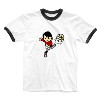 ロングフィード Ringer T-shirts