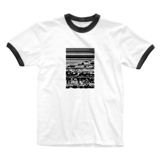 脳 Ringer T-shirts