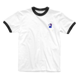 UFOを探すマイペースなミー Ringer T-shirts